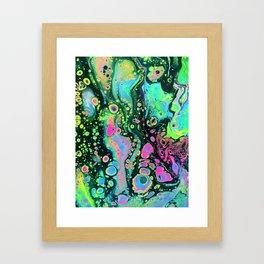 holo melt Framed Art Print