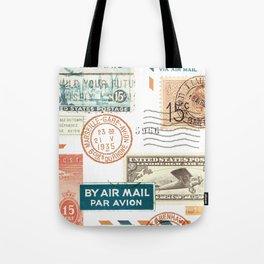 Airmail Tote Bag