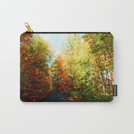 Into the Fall Forest Carry-All Pouch