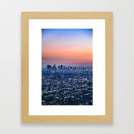 DTLA Framed Art Print