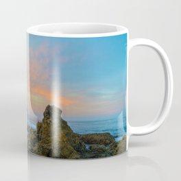 Tidepool Sunrise at Arch Rock Coffee Mug