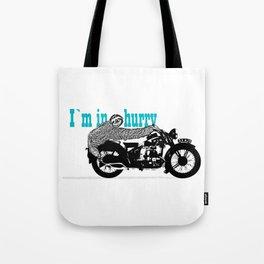 Sloth - easy rider Tote Bag