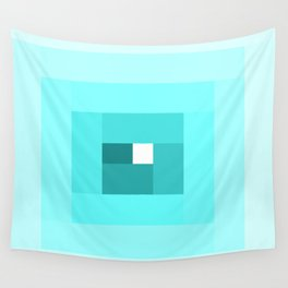 Blue Spiral Wall Tapestry