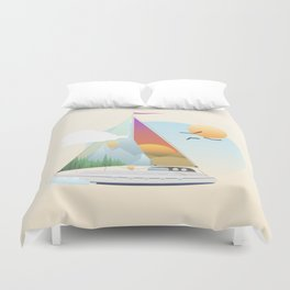 Seaside Vacation Duvet Cover