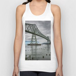 Astoria - Megler Bridge Unisex Tank Top