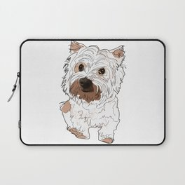 Lolo, West Highland Terrier Laptop Sleeve