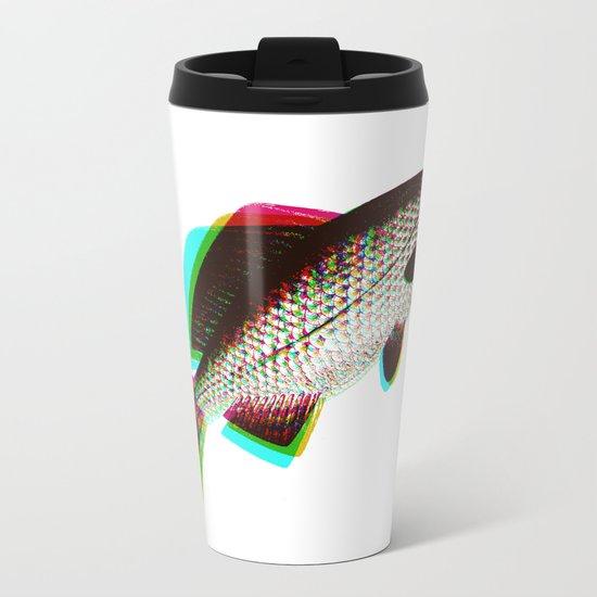 fish + fish + fish Metal Travel Mug