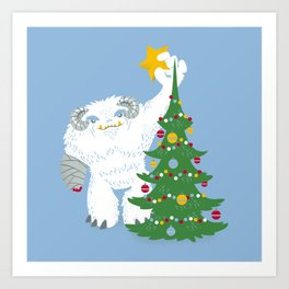 Hothy Holidays - Part 1 Art Print