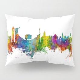 Lawrence Kansas Skyline Pillow Sham