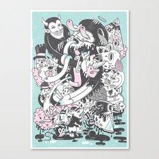 Deadly Sins Canvas Print
