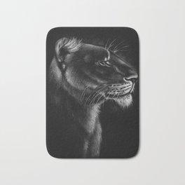 Proud Lioness Bath Mat