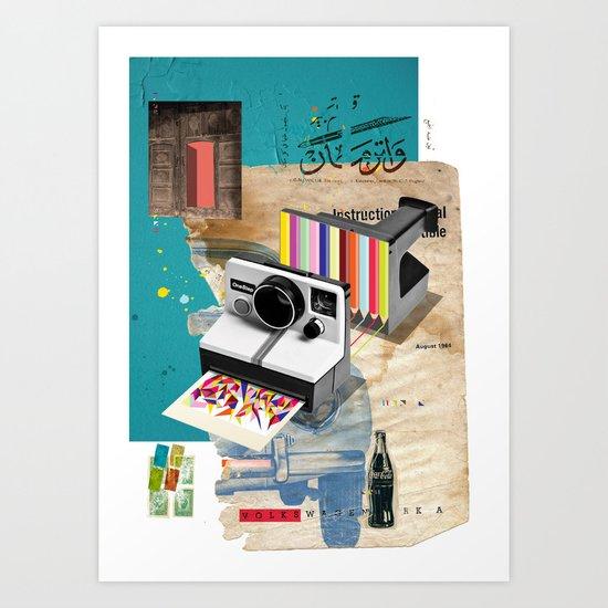 Colors In Progress Art Print