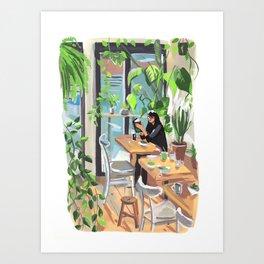 Brooklyn Bakery Art Print