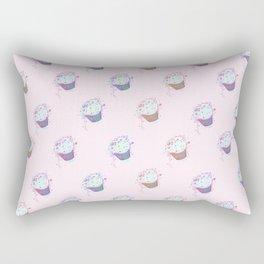 Fancy cupcakes Rectangular Pillow
