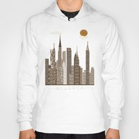 atlanta Hoodies featuring Atlanta city vintage by bri.buckley