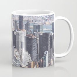 1932 New York City Next to Modern New York City-The Old and the New Coffee Mug