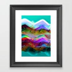 Ocean-Race  no21 Framed Art Print