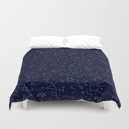 Chemicals and Constellations Duvet Cover