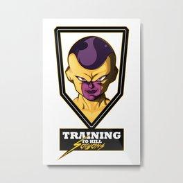 Training Metal Print