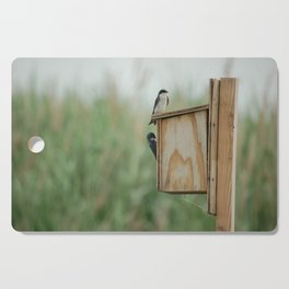 Birds at New Jersey Meadowlands Nature Preserve Cutting Board