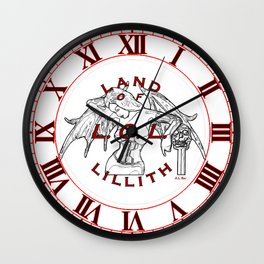 Land of Lillith Wall Clock