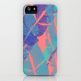 Carved Fluo Jungle #society6 #decor #buyart iPhone Case