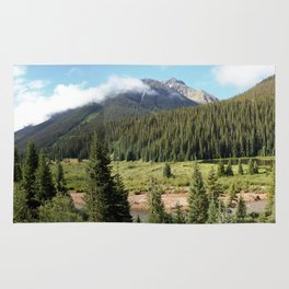 Mineral Creek - Heart of the 1880's Silver and Gold Rush in the San Juans Rug