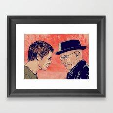 Dexter and Walter Framed Art Print