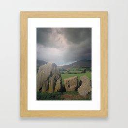 Standing Stones Framed Art Print