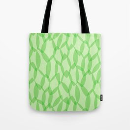 Overlapping Leaves - Light Green Tote Bag