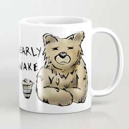 Bearly Awake Funny Pun Coffee Mug