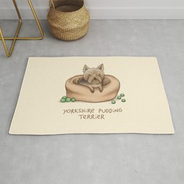 Yorkshire Pudding Terrier Rug