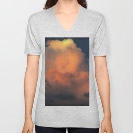 Mystical Cloud Combustion Unisex V-Neck