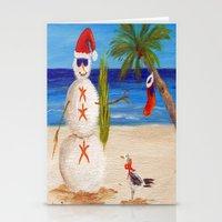 sandman Stationery Cards featuring Christmas Sandman by Vivid Perceptions