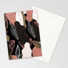 Naive Black Stationery Cards