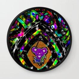 Diamond Bear Wall Clock