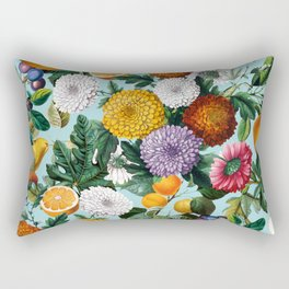 Summer Fruit Garden Rectangular Pillow