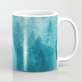 Misty Pine Forest 2 Coffee Mug