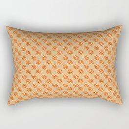 Tulip_Flora_Tender Clivia repeat pattern Rectangular Pillow