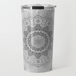 chanukkah-mandala-angels-candelars-judaica art-Jewish Holidays-joy-light-gift-3D effect Travel Mug