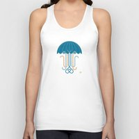 jelly fish Tank Tops featuring Jelly the Fish by Kirsten Ulve