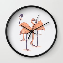 Photobombed Wall Clock
