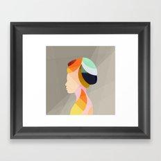 On & On Framed Art Print