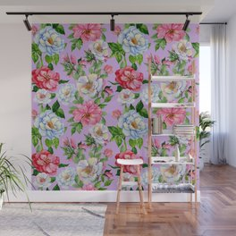 Vintage Floral Pattern No. 9 Wall Mural