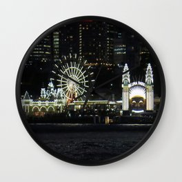 Luna Park by the Harbour Wall Clock