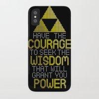 motivational iPhone & iPod Cases featuring Triforce Motivational by JesseThomas