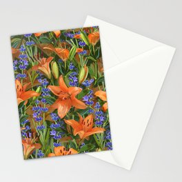 Lilies & Lavender Stationery Cards