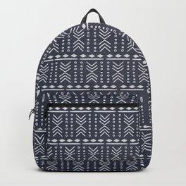 Denim Mudcloth Backpack