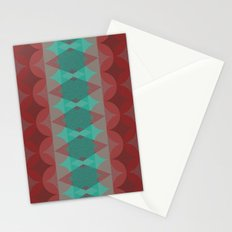 Red vs. Green Stationery Cards