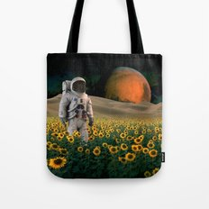 The Sunflower Field Tote Bag